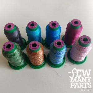 Isacord Thread Spools (Used)