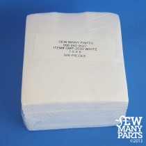 3.5 oz Performance Cutaway 7.5x8 Precut Sheets