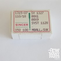 Singer 110/18 Medium Ball Point Industrial Sewing Needle