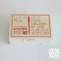 Singer  75/11 Light Ball Point Industrial