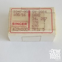 SInger 100/16 Sharp Point Industrial Needle