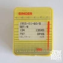 Singer 60/08 Sharp Point Industrial Sewing Needles