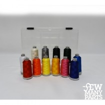 12 Spool Polyester Color Kit