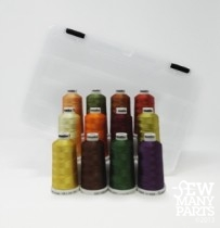 12 Mini Snap Cone Rayon Kit of Fall Colors