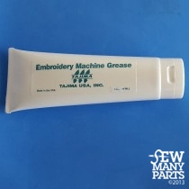 White Grease for Tajima Machines, 8 oz Tube